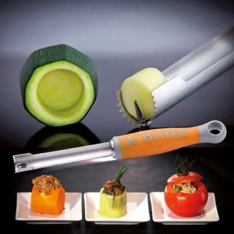 Corer pour évider et farcir les légumes