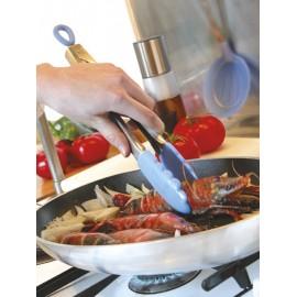 Pince de cuisine multifonction inox silicone Mastrad