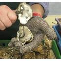 Gant en cotte de maille pour huîtres