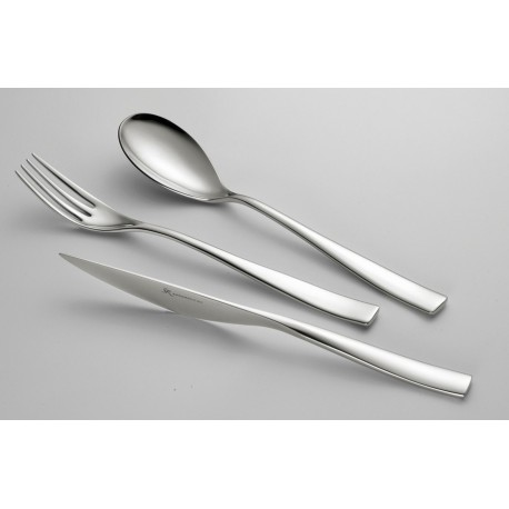 Fourchette de table en inox modèle Etoile