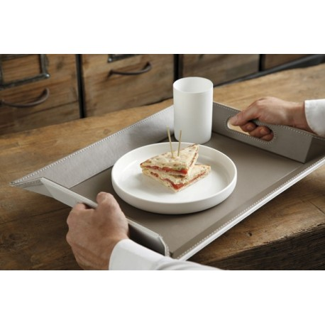 Plateau transformable en set de table free form la carpe - Set de table paillete ...