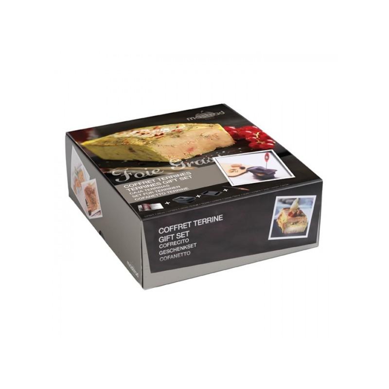 kit r ussir son foie gras terrine silicone et presse livre terrines thermom tre lectronique. Black Bedroom Furniture Sets. Home Design Ideas